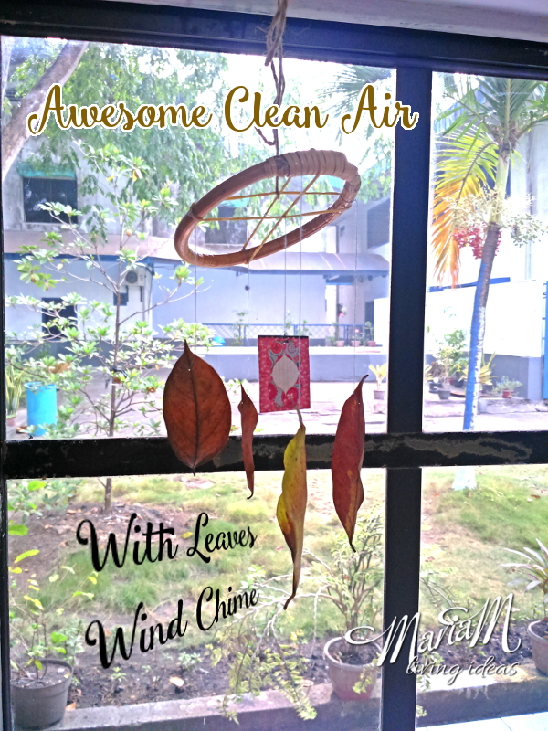 Awesome Clean Air With Leaves Wind Chime 1