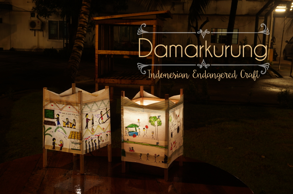 Damarkurung, Indonesian endangered craft. My article at Multicultural Kid Blogs
