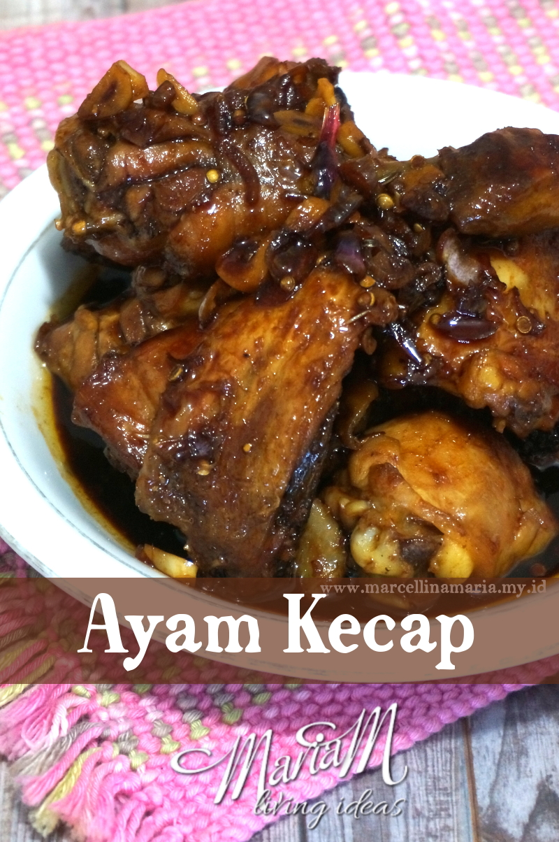 Ayam kecap or fried chicken with sweet soy sauce is one of Indonesian traditional food. It has sweet taste and the seasoning made it taste so delicious. Easy to cook by your kids. Ayam kecap rich with anise and cinnamon taste. Here is how to cook: