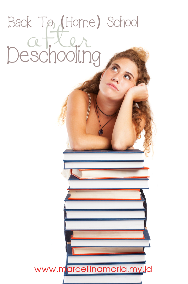 How to back to homeschool after a period of deschooling?