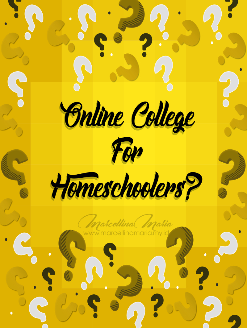 online college for homeschooler, questions and answers