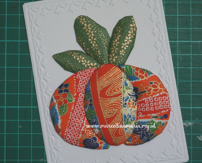 DIY thanksgiving card
